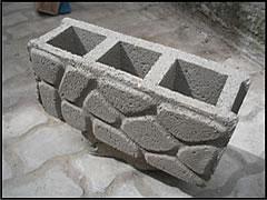 bloques de hormign diferentes modelos - Bloques De Hormign